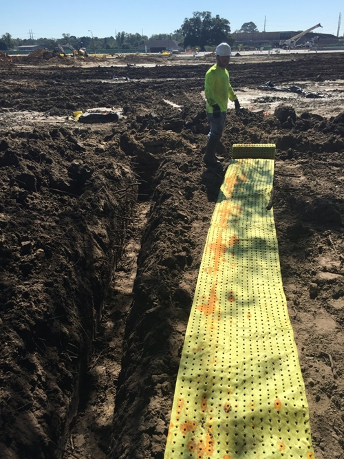root barrier installation tomball tx